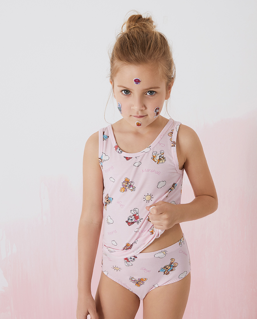 Aimer Kids內褲|愛慕兒童天使小褲MODAL汪汪隊女孩陽光