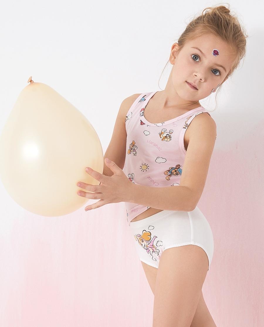 Aimer Kids內褲|愛慕兒童天使小褲棉氨綸汪汪隊女孩陽光天天