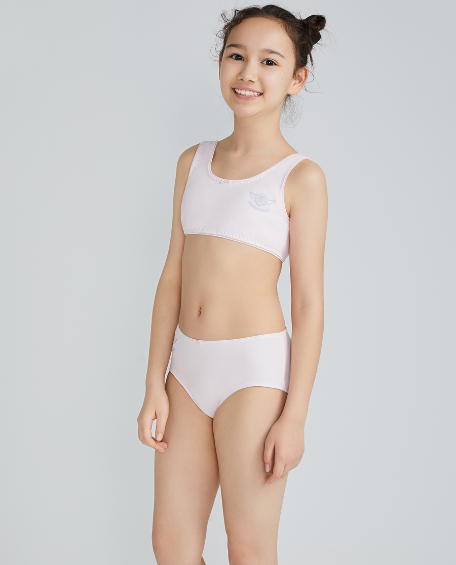 Aimer Junior內褲|愛慕少年魔法星愿少女中腰平角褲AJ123