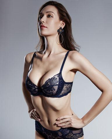La Clover文胸| 兰卡文轻蝶漫舞系列3/4薄杯文胸LC13NQ1