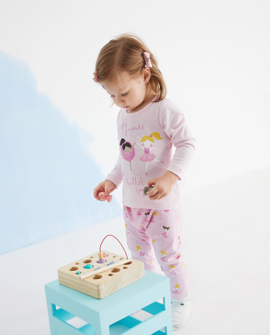 Aimer Baby保暖|爱慕婴儿芭蕾女孩女婴幼长袖上衣AB172
