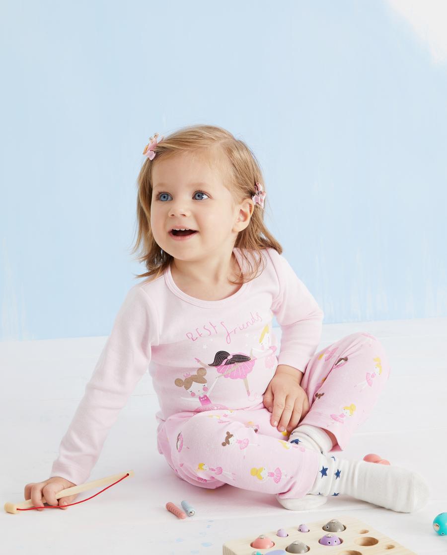 Aimer Baby保暖|爱慕婴儿芭蕾女孩女婴幼大屁屁裤AB173