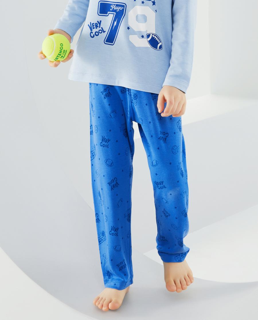 爱慕儿童全能球手男孩长睡裤AK2423851