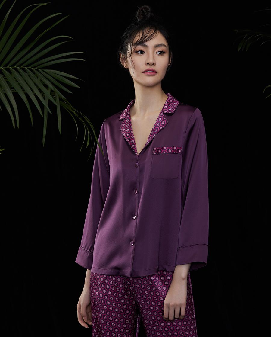 EMPERORIENT睡衣|皇锦女国际款分身套装HJ21291