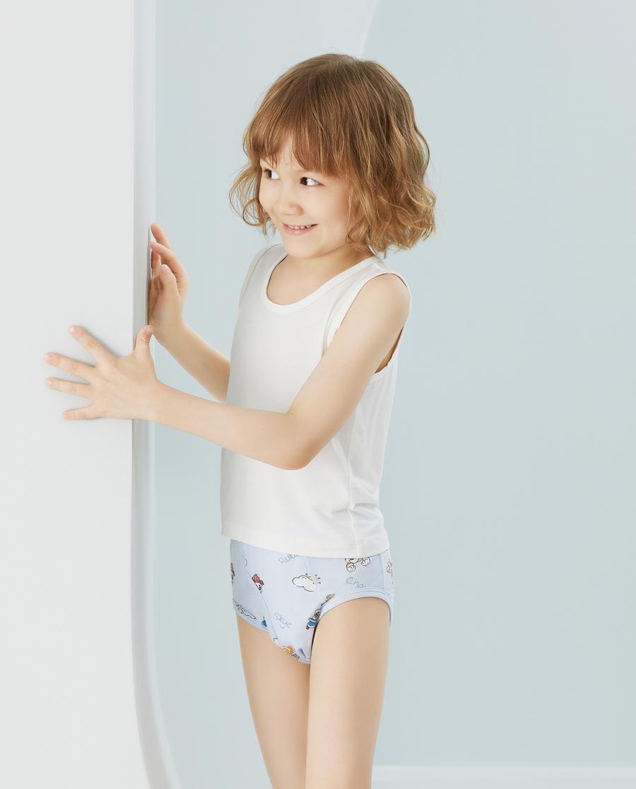 Aimer Kids内裤|爱慕儿童天使小裤MODAL汪汪队男孩阳光