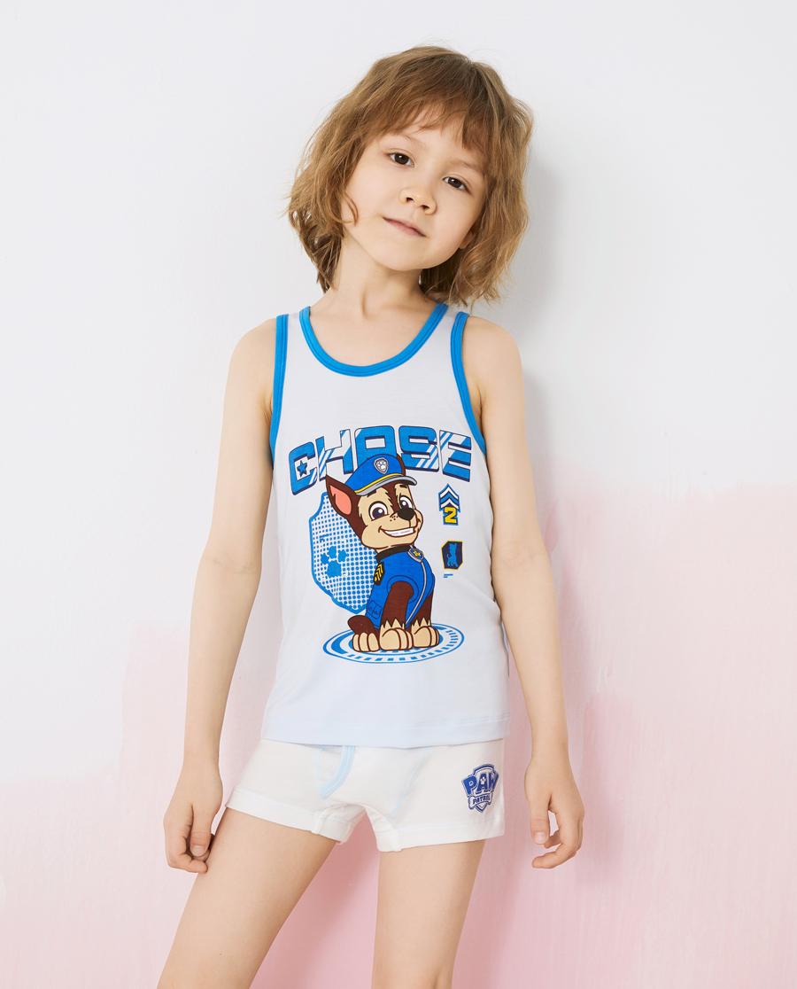 Aimer Kids内裤|爱慕儿童天使小裤MODAL汪汪队男孩拍档