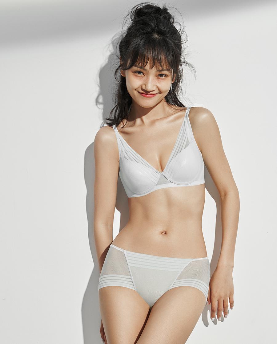 IMIS文胸|爱美丽X-Bra3/4隐孔薄模杯文胸IM