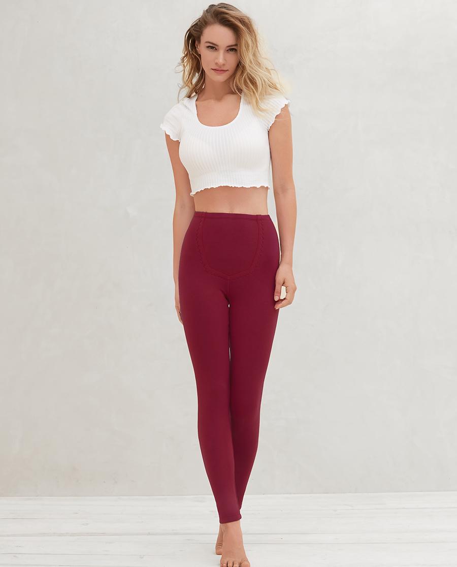 爱慕暖绒双层长裤AM735212