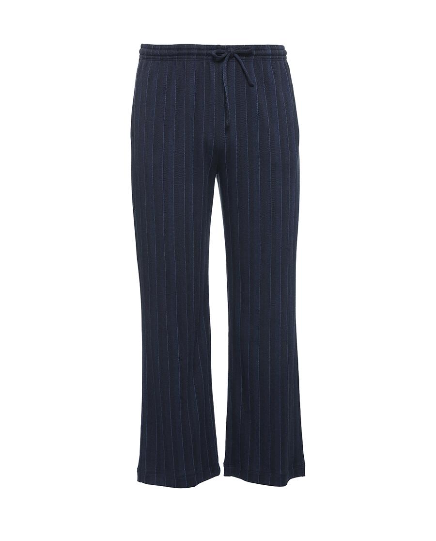 Aimer Men睡衣 爱慕先生20AW提花条纹棉家居长裤NS42D621