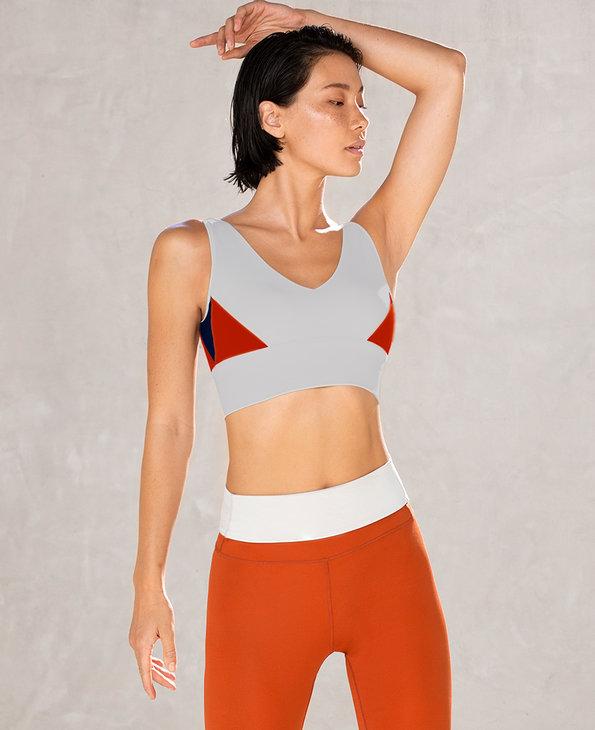 Aimer Sports文胸 爱慕运动热瑜伽III背心式长文胸AS116L61