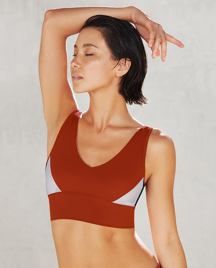 Aimer Sports文胸|爱慕运动热瑜伽III背心式长文胸