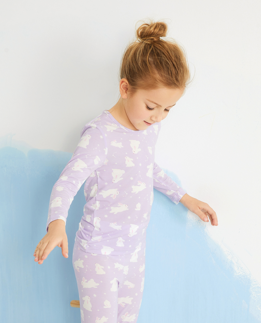 Aimer Kids保暖|爱慕儿童许愿兔女孩长袖上衣AK17242