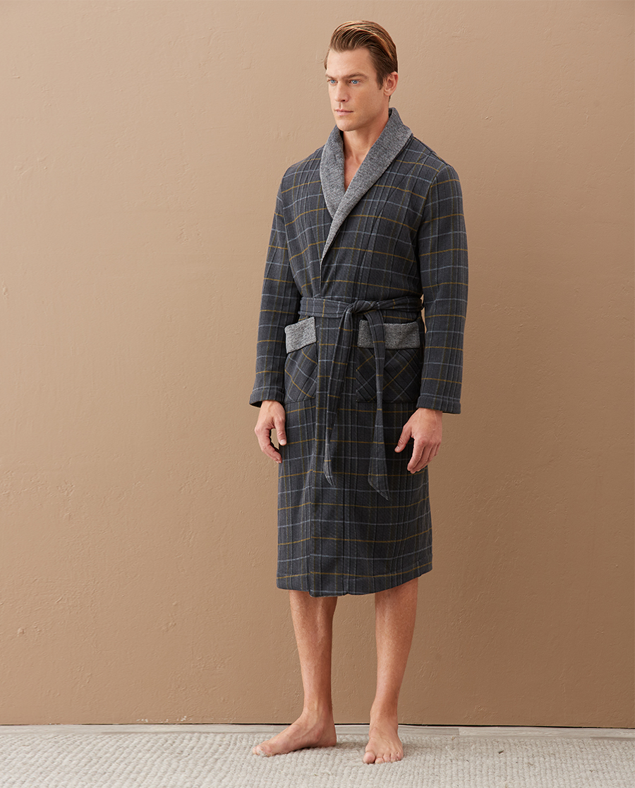 Aimer Men睡衣|爱慕先生20AW金标中厚家居袍子NS44