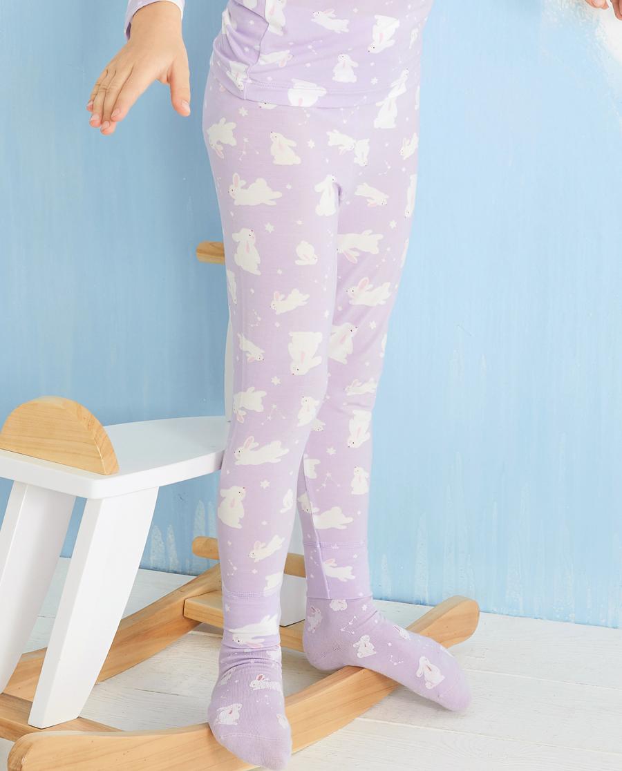 Aimer Kids保暖|爱慕儿童许愿兔女孩长裤AK1734211