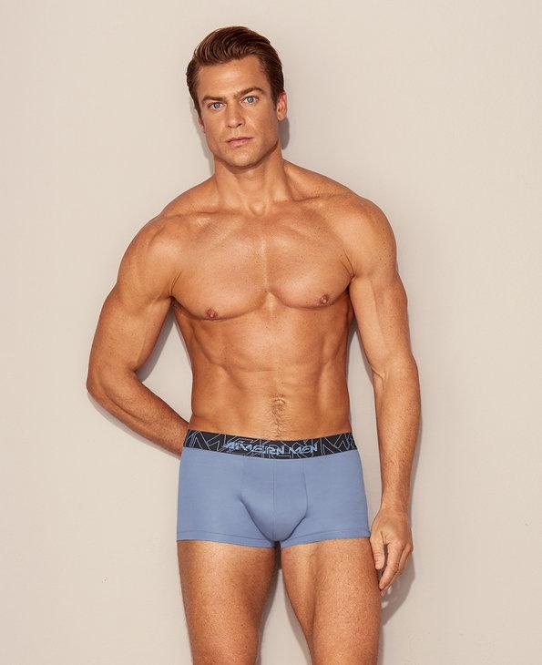 Aimer Men内裤|爱慕先生赛博之星基础系列装腰平角裤NS23D341A