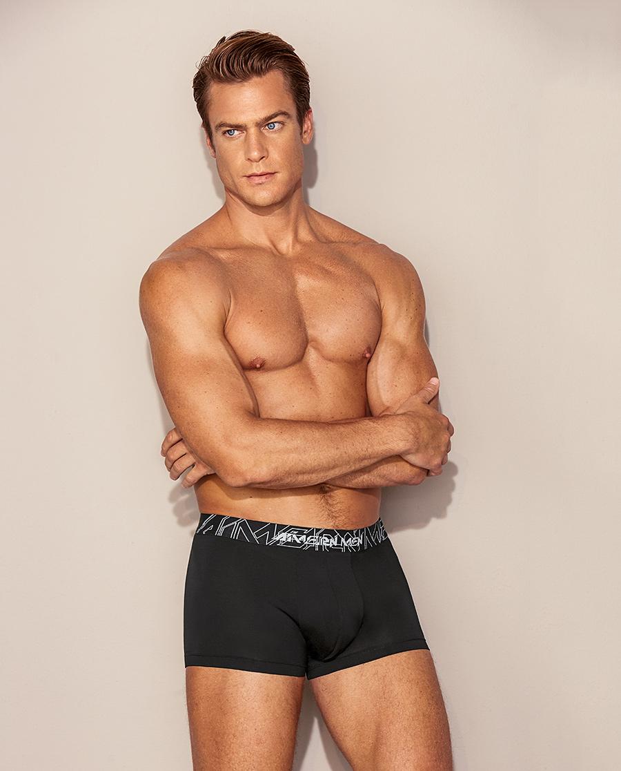 Aimer Men内裤|爱慕先生20AW赛博之星基础系列装腰平角