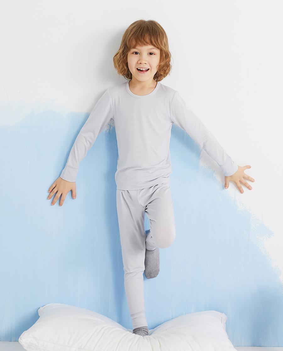 Aimer Kids保暖|爱慕儿童丝滑体验男孩长裤AK273418