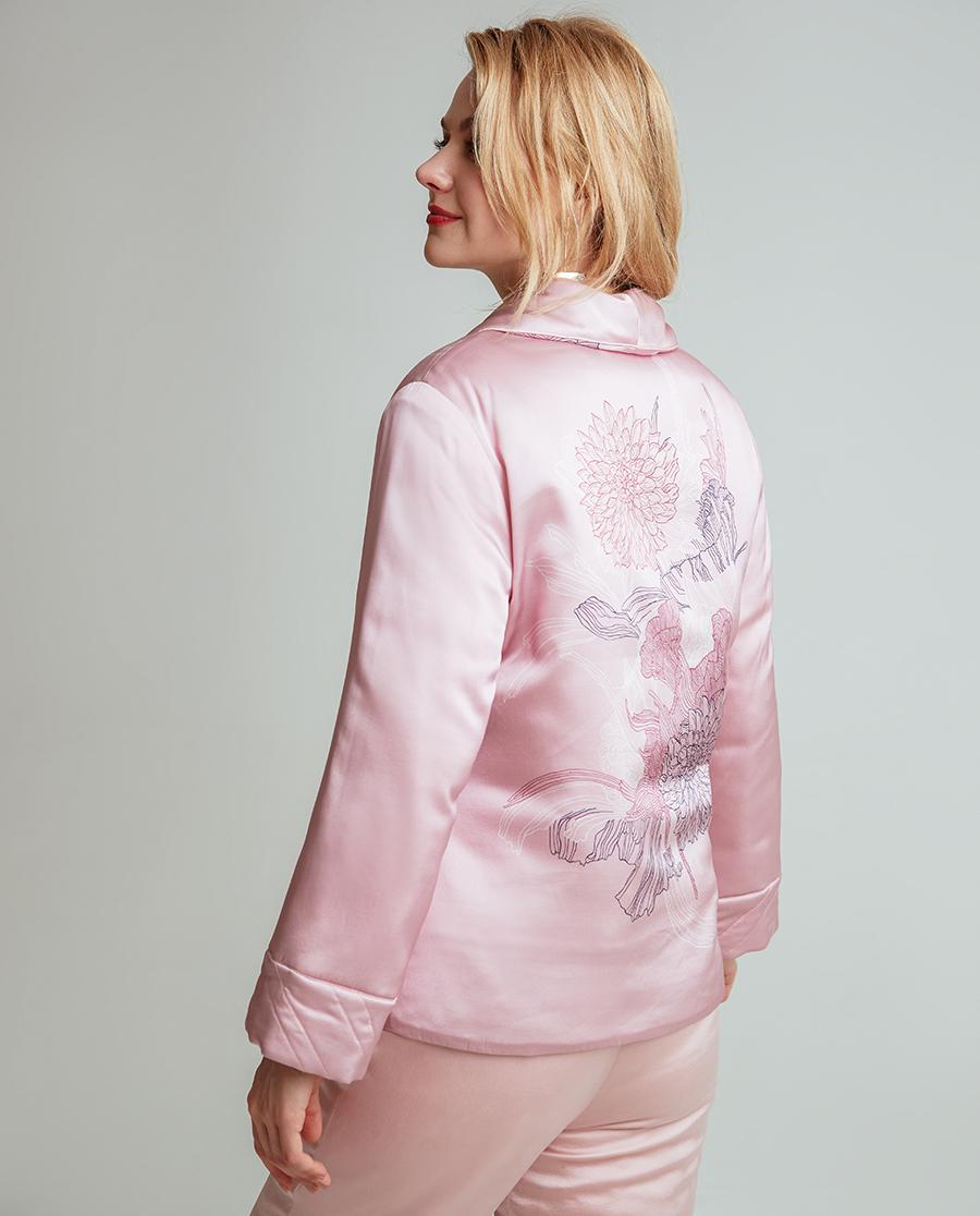 La Clover睡衣|兰卡文暖香系列夹棉睡衣套装LC46NP1