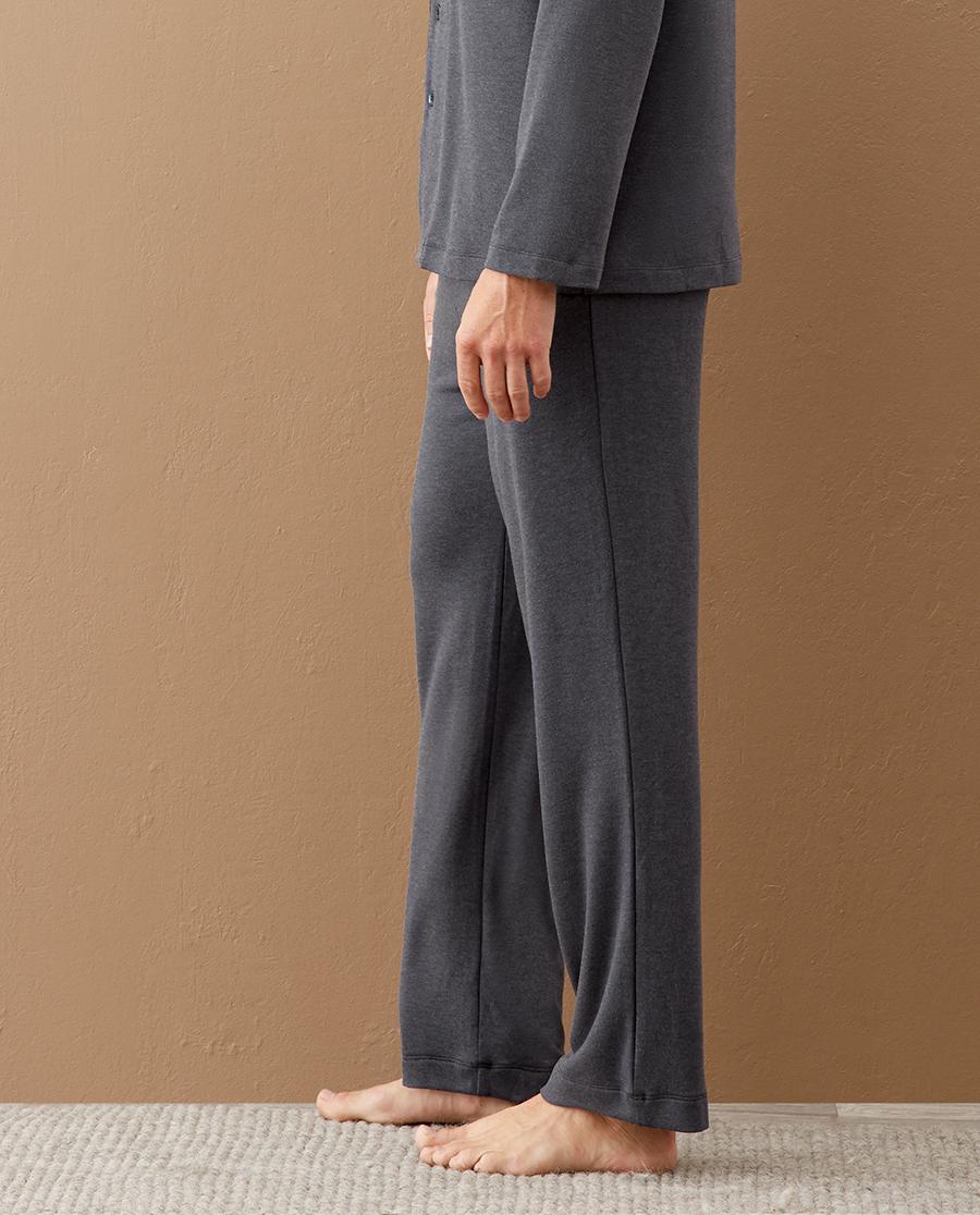 Aimer Men睡衣|爱慕先生20AW亲肤暖绒家居长裤NS42