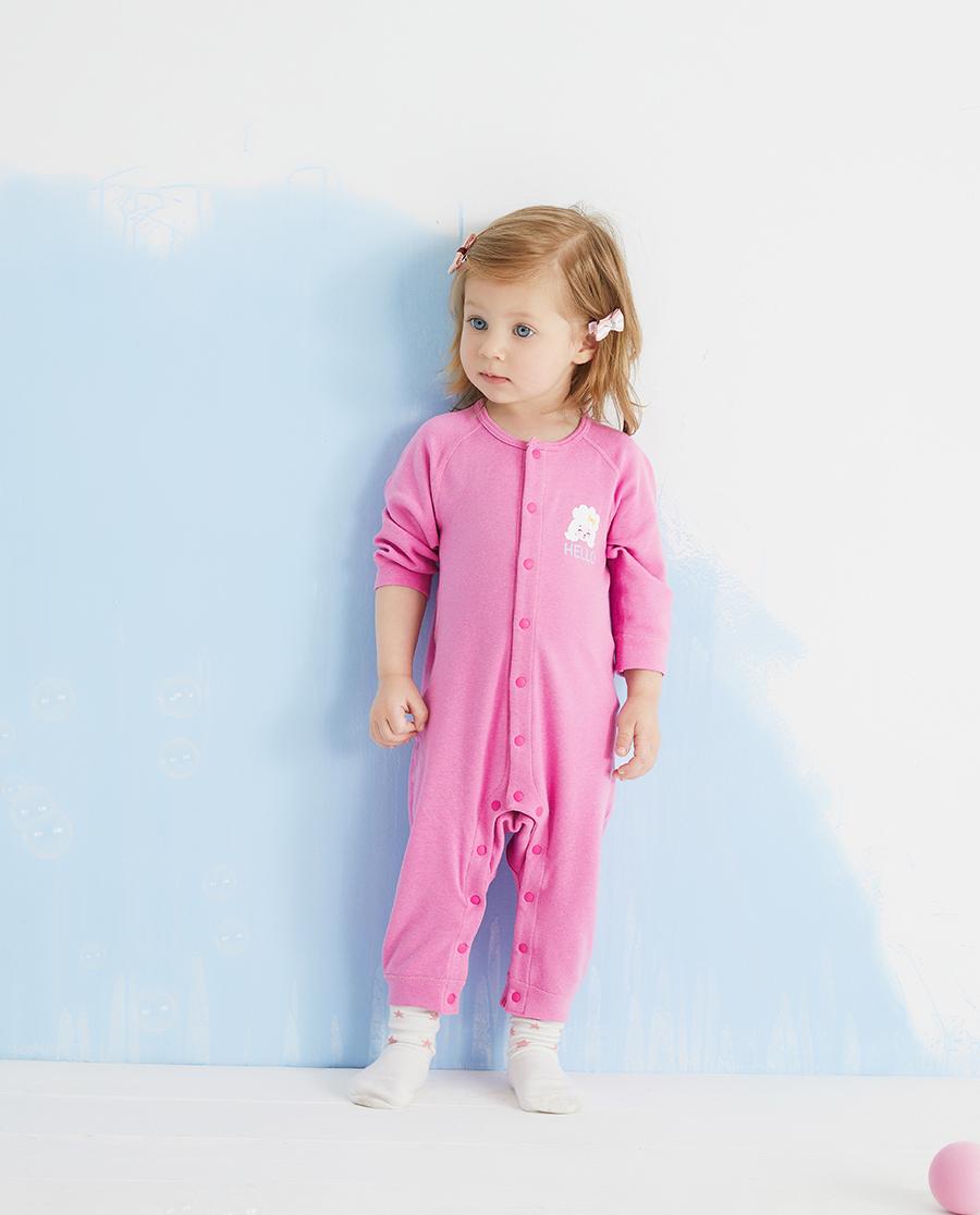 Aimer Baby保暖|暖阳新意长袖连体爬服
