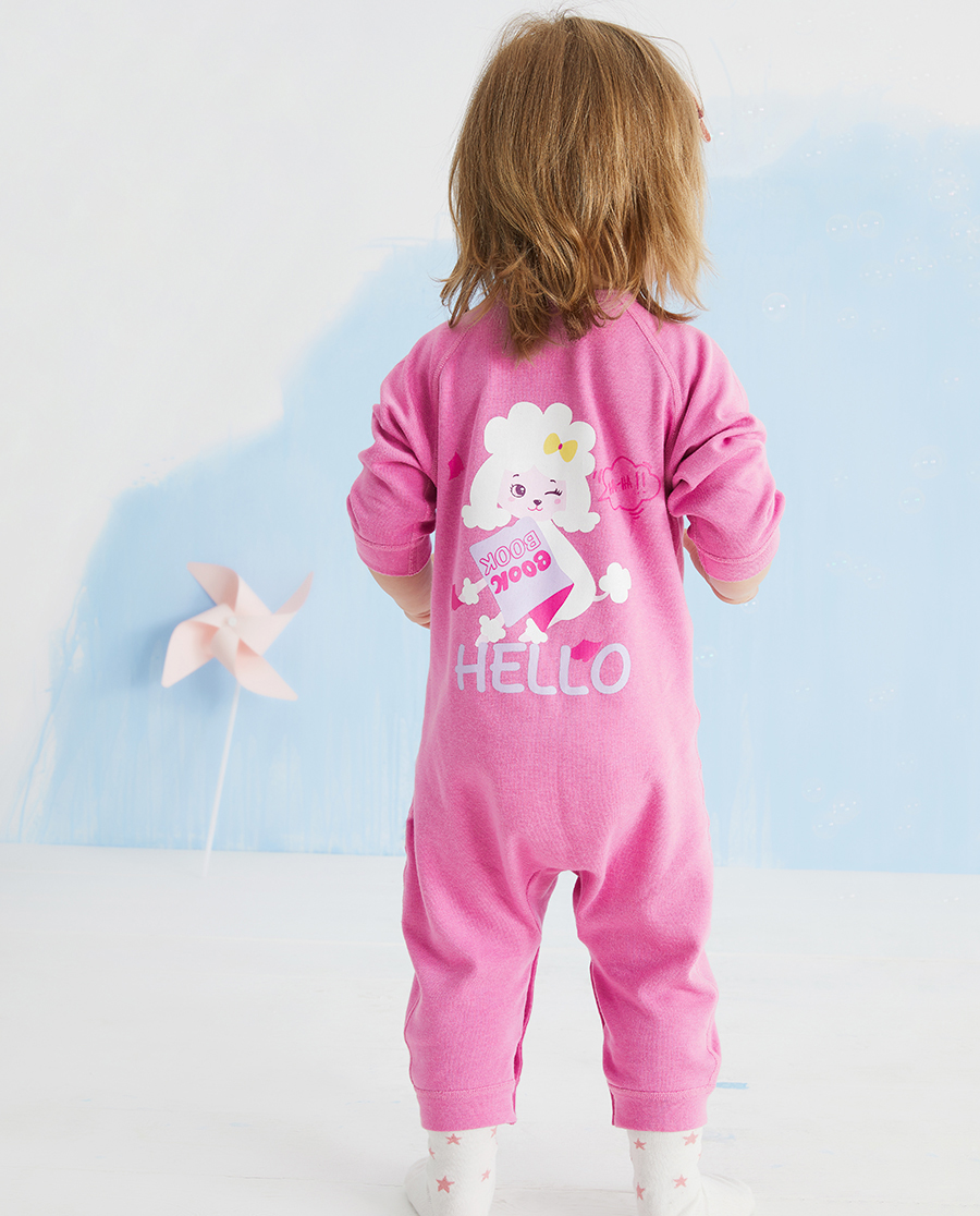 Aimer Baby保暖|20AW暖阳新意长袖连体爬服