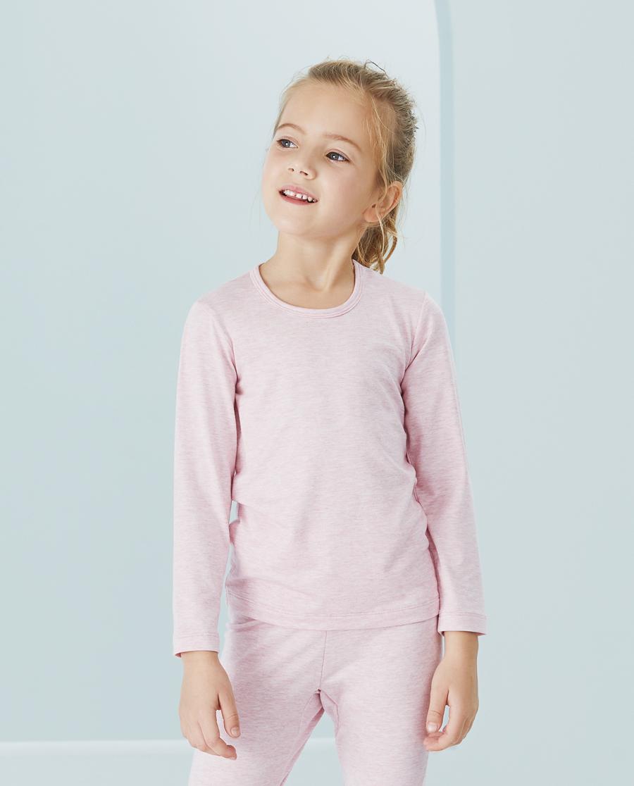 Aimer Kids保暖|爱慕儿童植物舒爽女孩长袖上衣AK1724