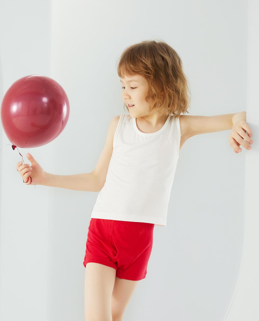 Aimer Kids内裤|爱慕儿童天使小裤MODAL印花男孩小牛哞