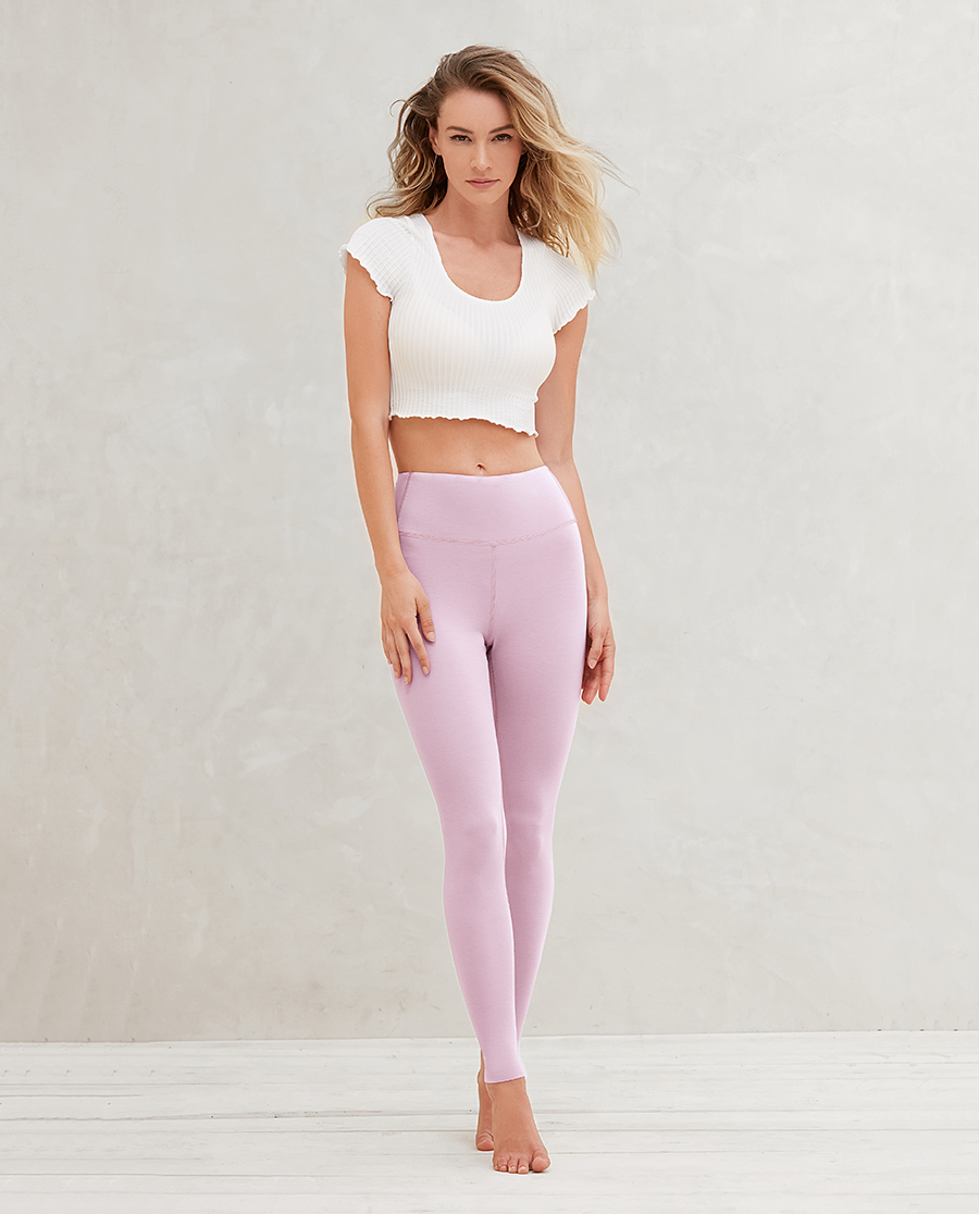 Aimer保暖 爱慕20AW牛奶单层长裤AM735291