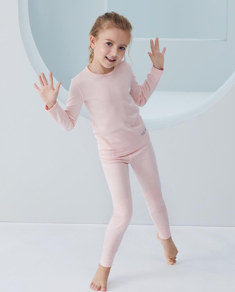 Aimer Kids保暖|爱慕儿童新暖尚女孩单层长裤AK17343
