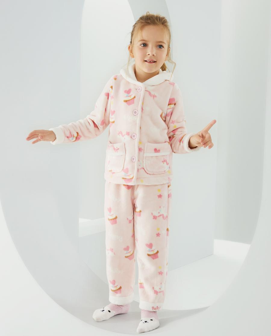 Aimer Kids睡衣|爱慕儿童梦幻派对女孩家居长裤AK1423