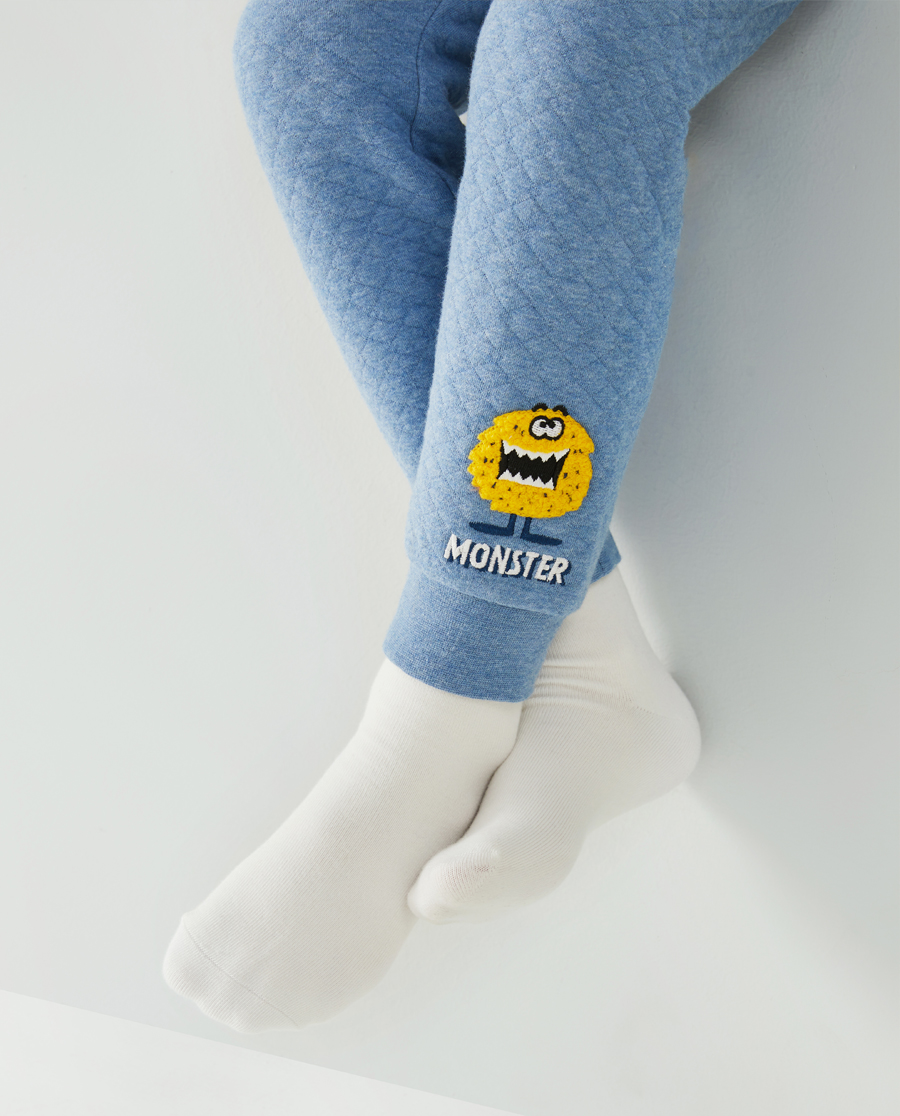 Aimer Kids睡衣|爱慕儿童大眼兽男孩家居长裤AK24239