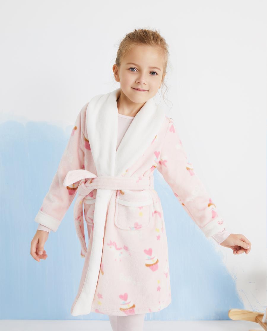 Aimer Kids睡衣|爱慕儿童梦幻派对女孩家居袍AK14439