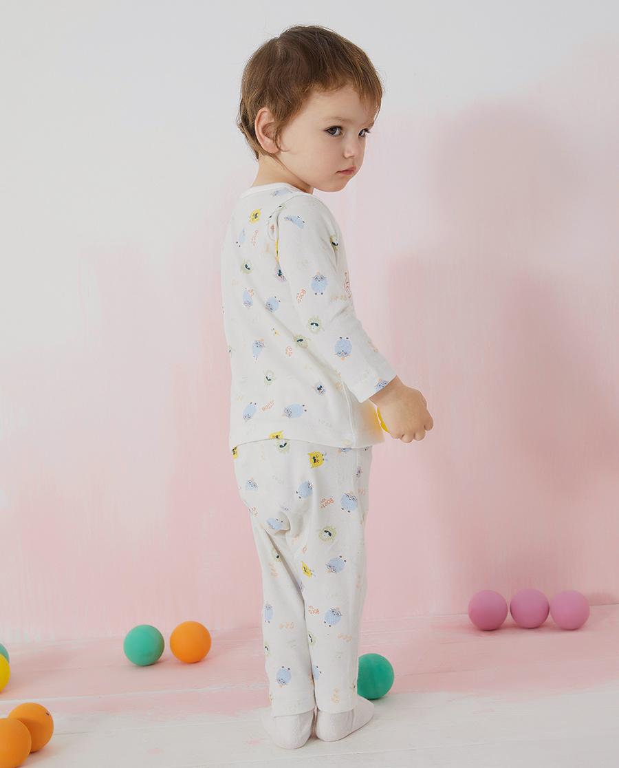 Aimer Baby保暖|爱慕婴儿淘气小萌怪中性婴幼大屁屁裤AB3