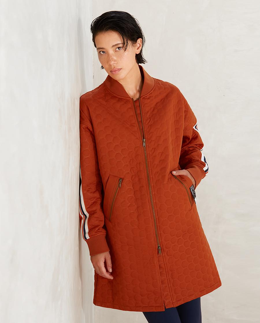 Aimer Sports睡衣|爱慕运动运动派对II长款棉外套AS144