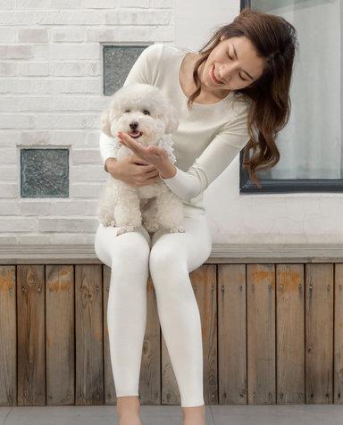Aimer保暖|爱慕牛奶单层长裤AM735291