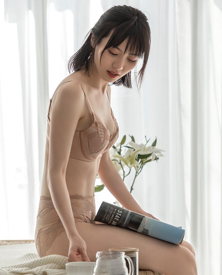 Aimer文胸|爱慕秋意浓3/4无纺布文胸AM12530