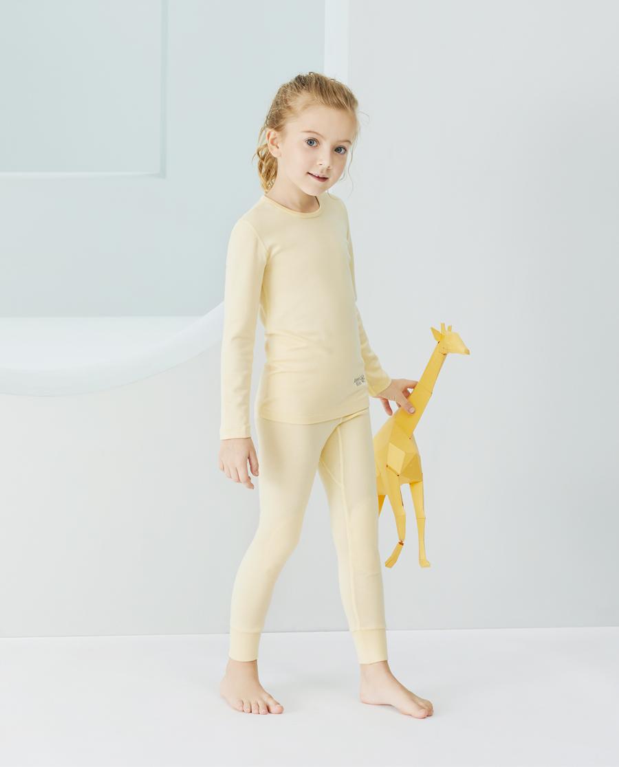 Aimer Kids保暖|爱慕儿童新暖尚中性双层长裤AK37343