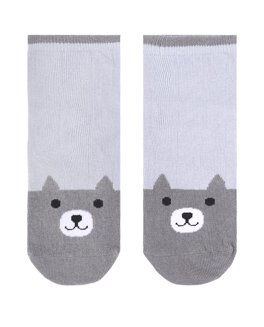 Aimer Kids袜子|爱慕儿童袜子男孩小灰熊童袜AK2944571