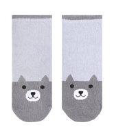 爱慕儿童袜子男孩小灰熊童袜AK2944571