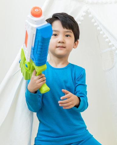 Aimer Kids保暖|爱慕儿童新暖尚双层圆领长袖AK2722192