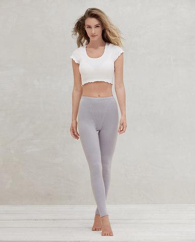 Aimer保暖|爱慕暖绒单层长裤AM735211