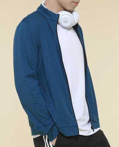 Aimer Men睡衣|爱慕先生智选舒服特外穿立领拉链开衫长袖NS81E621