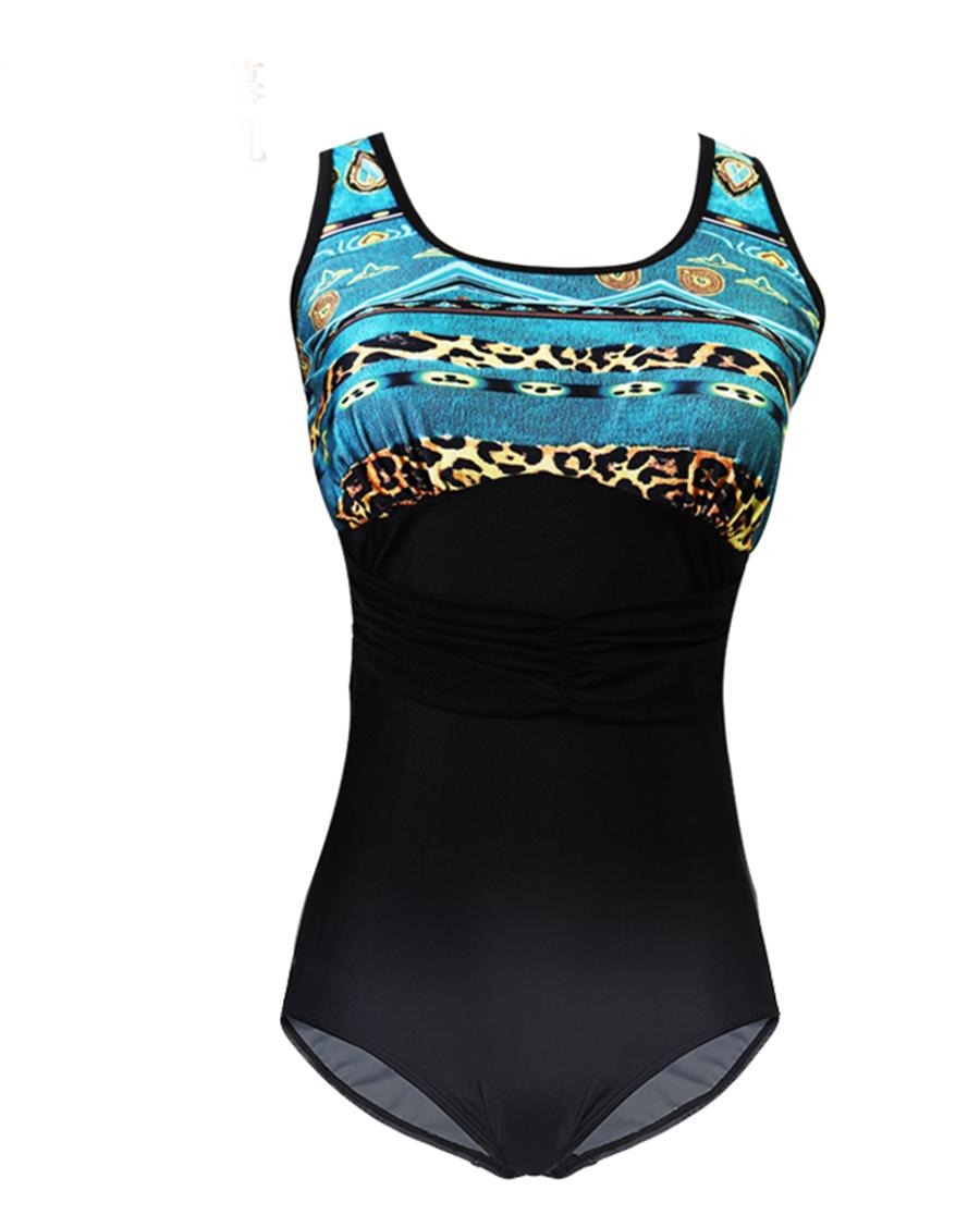 爱慕义乳泳衣|连体泳衣ALB12020