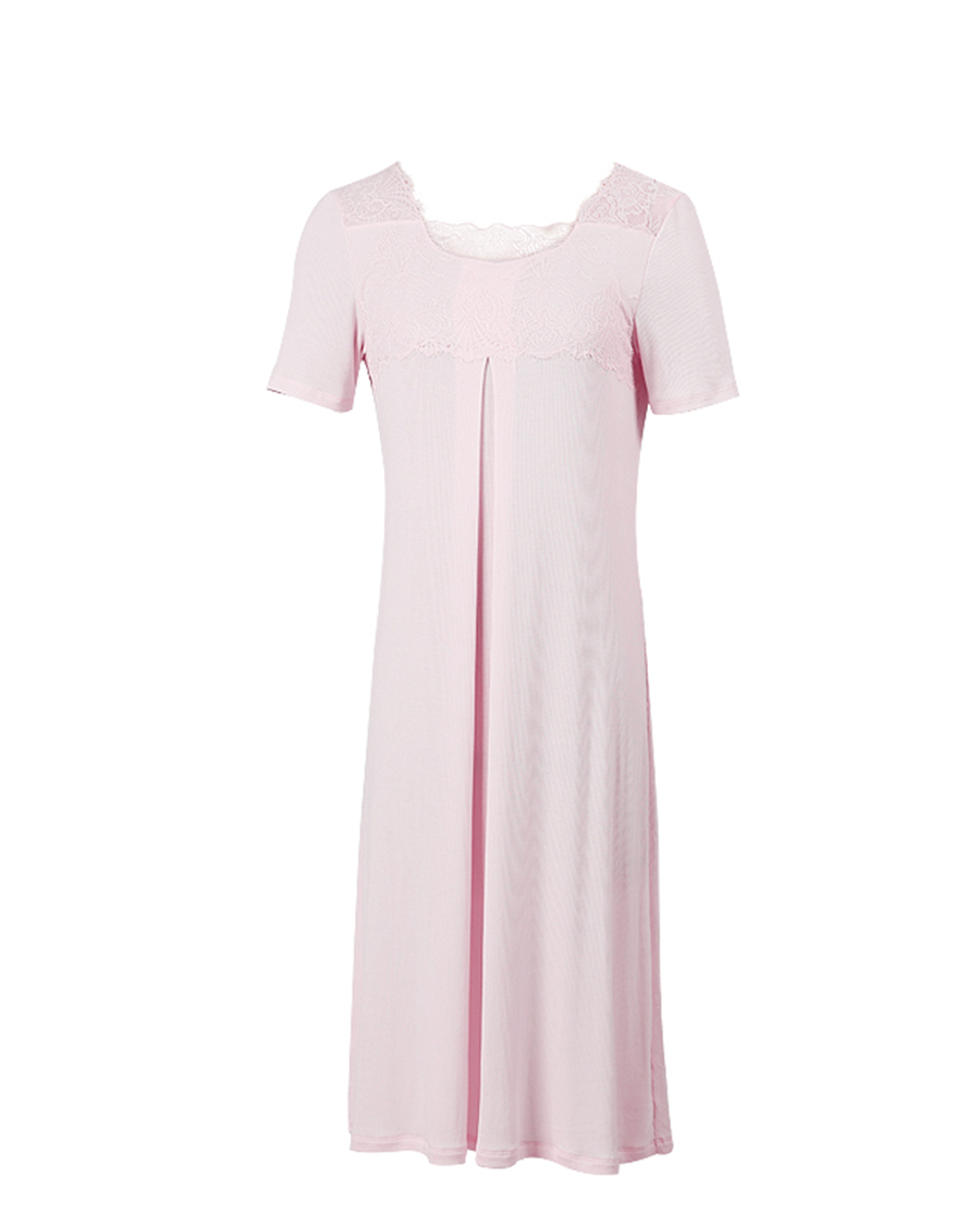 爱慕义乳睡衣 裙式家居服ALB12023