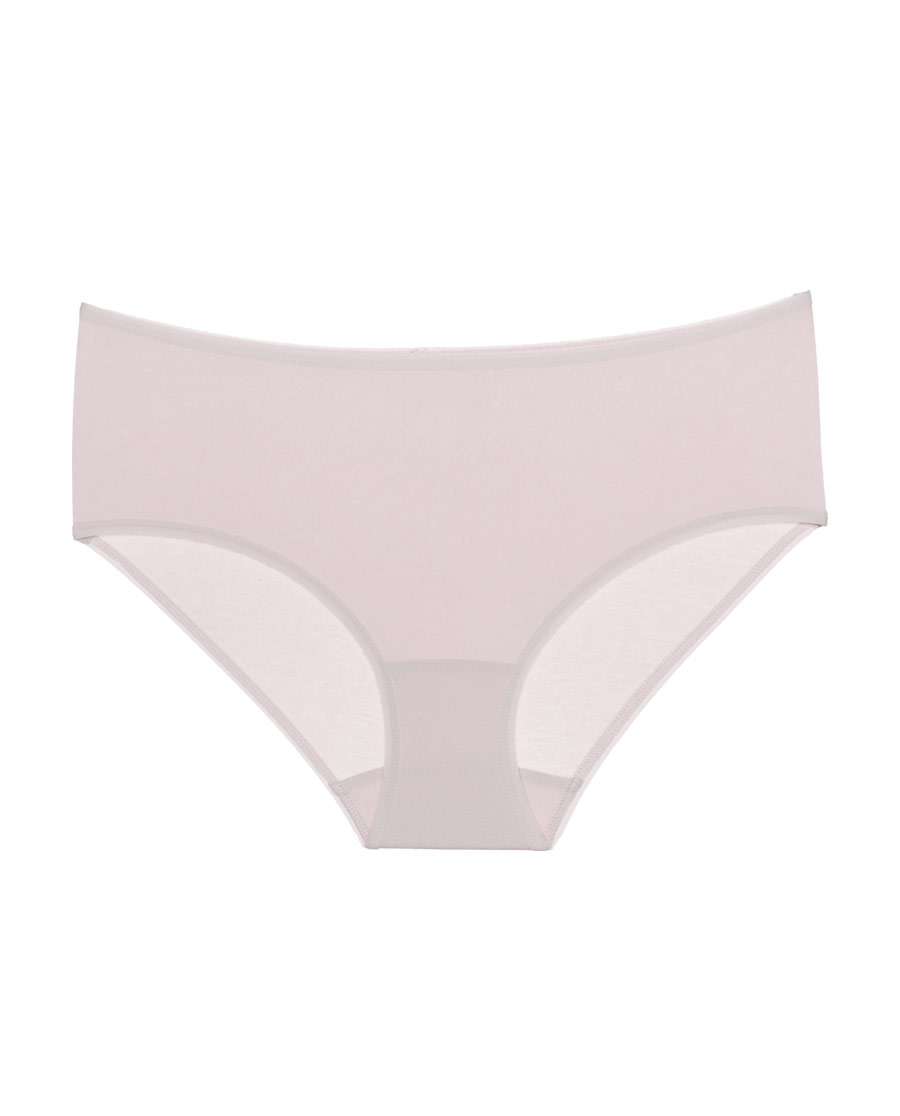 Aimer Basic内裤|爱慕(3件包)触摸自然2中腰平角裤AM2