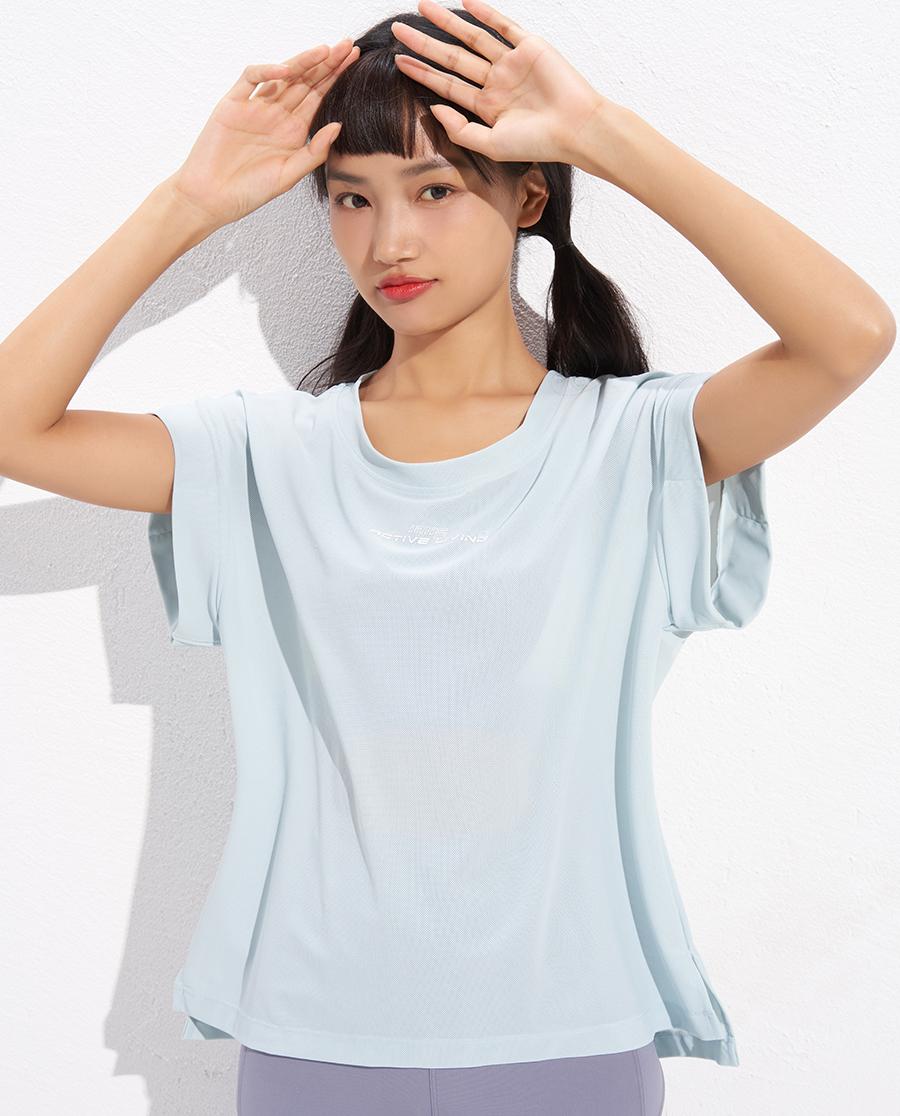 IMIS运动装|爱美丽动感旋律运动短袖上衣IM63BBP