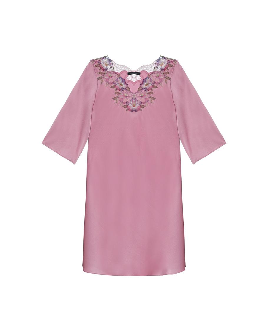 La Clover睡衣|兰卡文维纳斯之吻系列长袖睡裙LC44QG