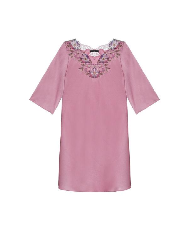 La Clover睡衣|兰卡文维纳斯之吻系列长袖睡裙LC44QG1