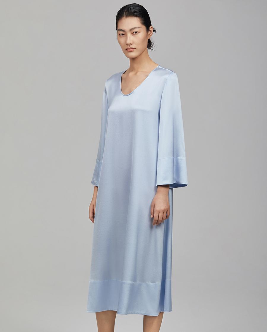爱慕·CHUANG调性系列真丝长袖长裙CA840135