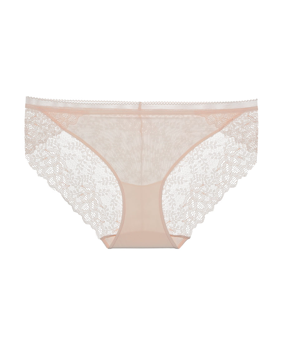 IMIS内裤|爱美丽在线V-一见钟情3件装蕾丝低腰平角裤IM25BCJ1